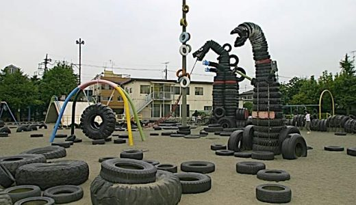 ヒルナンデスでも紹介された外国人客にも人気の大田区・タイヤ公園に行ってきた