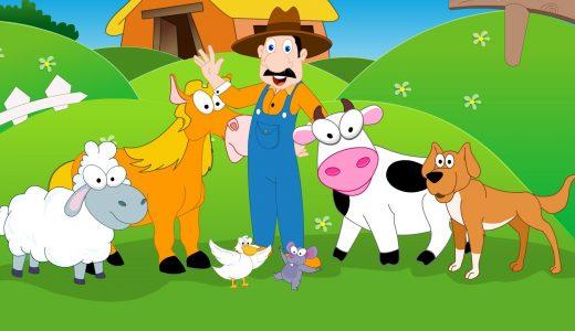 マクドナルド爺さんの農場の歌詞「イーアイイーアイオー」の意味は?英語では?