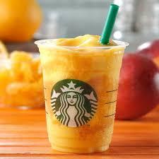 スタバのマンゴーオレンジフラペチーノはいいとこ取り!カロリー低っ!いつまで?