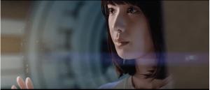 ブルボン ルマンドアイスCMの女優は誰?宇宙船で走る女性がかわいい